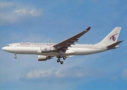 QATAR AIRWAYS, A330-203, Unused Postcard [14944] - 1946-....: Moderne