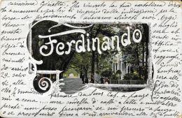 [DC5126] CARTOLINA - FERDINANDO - Viaggiata 1905 - Old Postcard - Cartoline