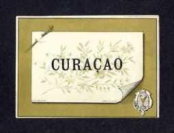 Etiquette De Liqueur Curaçao (11 X 8 Cms) (Ref.64981) - Labels