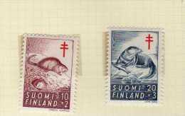 "Finlande (1961)   - ""Faune"" Neufs** - Finlandia"