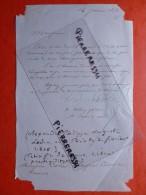 ALEXANDRE LEDRU ROLLIN POLITICIEN LETTRE AUTOGRAPHE A COLIN CONSULAT - Autografi