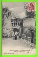METZ - ENTREE DU CHATEAU DE VIC ET GROUPE DE LORRAINES  - Carte écrite En 1910 - Châteaux D'eau & éoliennes