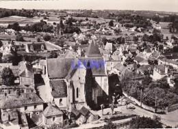 CPSM 10X15  De  BLAISON    (49) - EN AVION AU-DESSUS DE ... Vue Générale - - France