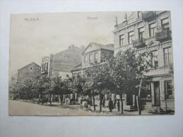 MLAWA    , Schöne Karte   Verschickt  ,   2  Scans - Polen