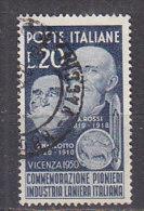 PGL - ITALIA REPUBBLICA SASSONE N°628 - 6. 1946-.. Repubblica