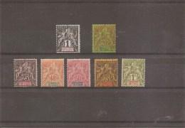 Inde Française ( 1/7/8/10 à 13 X -MH) - India (1892-1954)