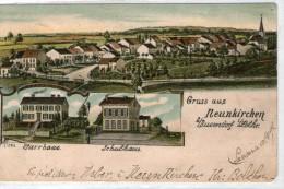 57 NEUNKIRCHEN LES BOUZONVILLE / Pfarrhaus, Schulhaus / LITHO COULEUR / Lothringen - Autres Communes