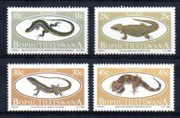 Bophuthatswana - 1984 - Lizards - MNH - Bophuthatswana
