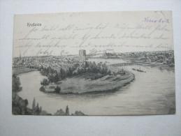 Kruszwica , Kruschwitz ,     , Schöne Karte   Verschickt  ,   2  Scans - Pommern