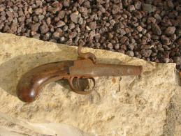 Carcasse De Pistolet De Femme Des Années 1800 - Decorative Weapons