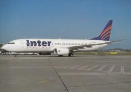 Inter Airlines, Boeing-737-8CX, Unused Postcard [14966] - 1946-....: Moderne