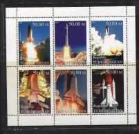 TÜRKMENISTAN, 1999, SPACE, - Asia