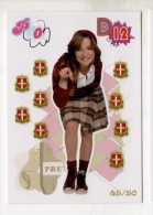FIGURINA TRADING CARD N.45/50 - IL MONDO DI PATTY (POPULARES VS DIVINAS) - PANINI - O MUNDO DE PATTY - PATITO FEO - Edizione Italiana