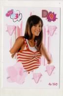 FIGURINA TRADING CARD N.4/50 - IL MONDO DI PATTY (POPULARES VS DIVINAS) - PANINI - O MUNDO DE PATTY - PATITO FEO - Panini