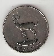 United Arab Emirates 25 Fils 1998   Km  4   Unc!!! - Emirats Arabes Unis