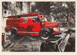 Verkehrsmittel -Auto - Ansichtskarten