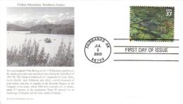 US  -  B´nai B´rith Philatelic  FDC  -  Chilkat Mountains, Southeast Alaska  -  Premier Jour D´Emission - Jewish