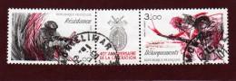 2313 A  De  1984  - Triptyque  - Oblitéré  -  40è Anniv.. De La Libération - Résistance & Débarquements - 2. Weltkrieg