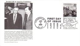 US  -  B´nai B´rith Philatelic  FDC  -  Jewish Life In America Exhibition  -  Premier Jour D´Emission - Jewish