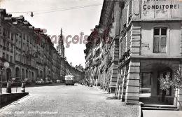 (BE) Bern Berne - Gerechtigkeitsgasse - Rue De La Fontaine De La Justice - Excellent état - 2 SCANS - BE Berne