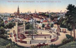 (BE) Bern Berne - Generalansicht Mit Bärengraben - Vue Générale Et La Fosse Aux Ours - Excellent état - 2 SCANS - BE Berne