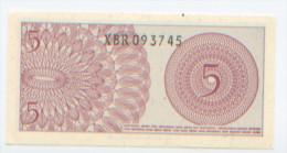 Billet De Banque, Banknote, Biglietto Di Banca, Bankbiljet, Indonésie, Indonesia, 5 Lima Sen, 1964, NEUF - Indonésie