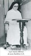 S.D.D. SUOR MARIA ALFONSA DI GESU' BAMBINO A.R.  -  CON RELIQUIA - Mm. 66X116  - M - PR - Religion & Esotérisme