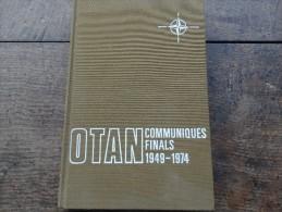 OTAN-communiqués Finals 1949-1974 - Livres