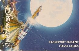 PASS--DISNEYLAND-1996-SPA CE-MOUNTAIN-FUSEE-ENFANT- V° S049533-VERTICAL- TB E - Pasaportes Disney