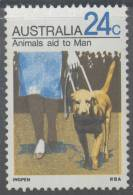 Australia 1971 Animals 24c Guide-dog Aid To Mam MNH - 1966-79 Elizabeth II