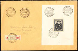 BELGIQUE - Bloc N° 4 -  Exposition De 1935 - Prince François De Tour Et Tassis  D´après Holbein Le Jeune. - Blocs 1924-1960