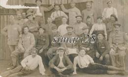 CARTE PHOTO - USINE VOLGENEGEN CAMP DE MAUCIN ALLEMAGNE MAI 1916 - War 1914-18