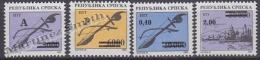 Bosnia Herzegovina - Serbia 1994 Yvert 32-35 Definitive, Overprinted  - MNH - Bosnien-Herzegowina