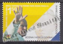 Bosnia Herzegovina - Serbia 2003 Yvert 259 Visit Of Pope John Paul II - MNH - Bosnia Herzegovina