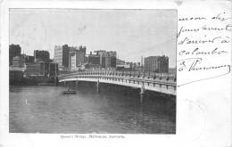¤¤  -   AUSTRALIE  -  MELBOURNE   -  Queen's Bridge   -  Oblitérations En 1904  -  ¤¤ - Melbourne