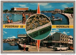 Pozdrav Iz Novalje - Gran Novalja - Jugoslavija - Yougoslavie - Nos Vieilles Voitures - Yougoslavie