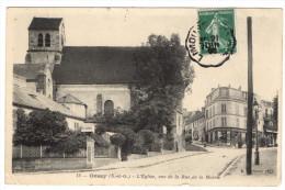 ORSAY - 91 - Essonne - Eglise - Rue De La Mairie - Orsay