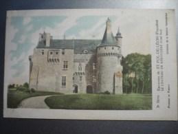 Solution Patauberge / Le Chateau De Kérouzéré Environs De Saint Pol De Léon - Chromos
