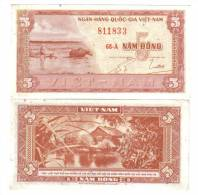 SOUTH VIETNAM 5 DONG 1955  Lotto 1135 - Vietnam