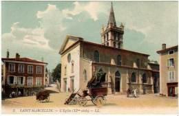 Saint Marcellin - L'église ( XIe Siècle ) - Saint-Marcellin