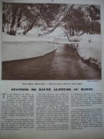 - Article De Presse - Régionalisme - Maroc - Ifrane - Sidi Ali - Haut Atlas - Oukaimeden- Tachdirt - 1937 - 5 Pages - Historische Dokumente