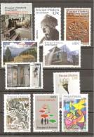 Andorra Española - Año 2012 Completo (MNH/**) - Spanish Andorra