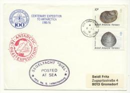 BRITISH ANTARCTIC TERRITORY - 1991 - Centenary Expedition To Antarctica - Territoire Antarctique Britannique  (BAT)