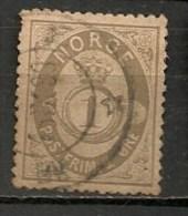 Timbres - Norvège - 1883-1890 - 1 Ore - - Norvège