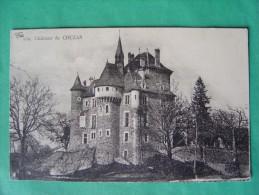 Cpa VEBRET -- Le Château De Couzan - Other Municipalities