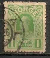 Timbres - Norvège - 1883-1890 - 1 Kr; - - Norvège