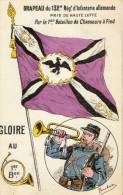 TROYES (10) Militaria Drapeau Du 132è Régiment D'infanterie Allemande Pris Par 1er Bat Chasseurs à Pied - Troyes
