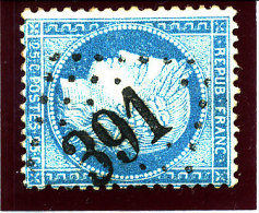 France 1875  (n°60 Ob.GC.  391 -  BEAUMONT-le ROGER) - 1871-1875 Ceres