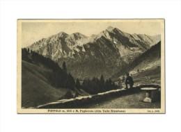Foppolo - M. Pegherolo - Alta Valle Brembana - Anim - Viagg - 1934 - FORMATO PICCOLO - Bergamo