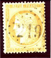 France 1875 (55.ol.GC. 2194  -  MARANS  ) - 1871-1875 Cérès